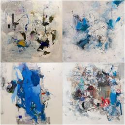 Exposición de la artista Vicenta Escrivá