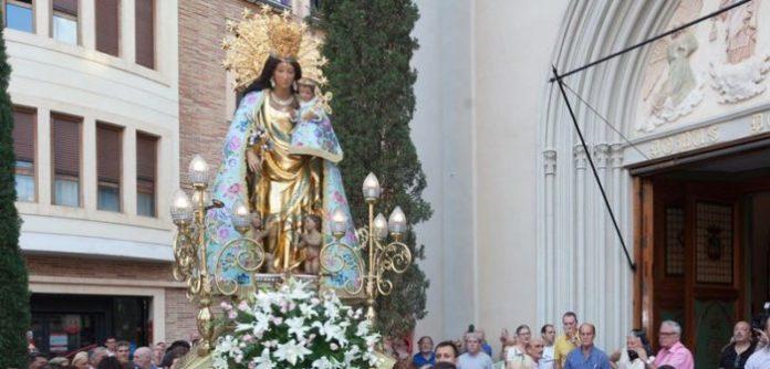Virgen Desamparados peregrina