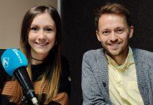 Xavi Benavent de Tasta'l d'ací durant l'entrevista en el programa La Graella de Radio Siete