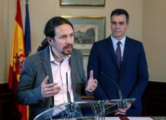 Pablo Iglesias y Pedro Sánchez | EFE