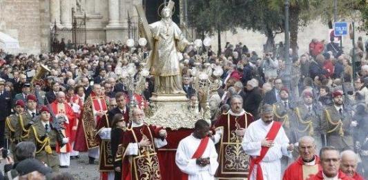 Procesión de San Vicente Mártir