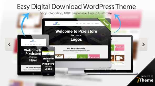 Easy Digital Downloads WordPress Theme