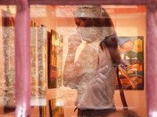 Esconder el reflejo. Grožnjan © Ana Ferri