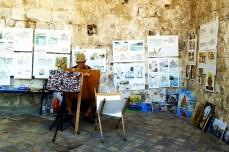 Atelier callejero. Dubrovnik © Sara Lombini