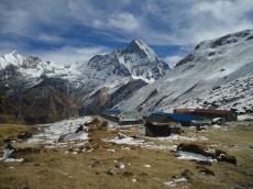 Los refugios a 4200 metros