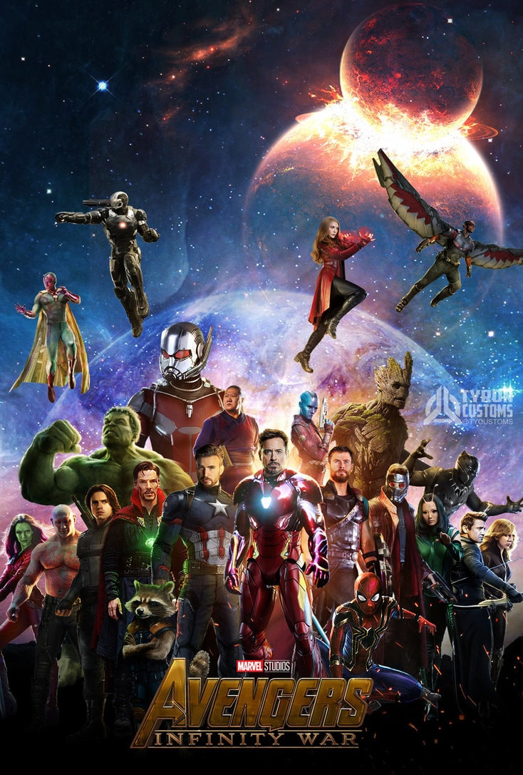 Avengers Infinity War Full Hd Wallpaper For Mobile Wallpaper Download