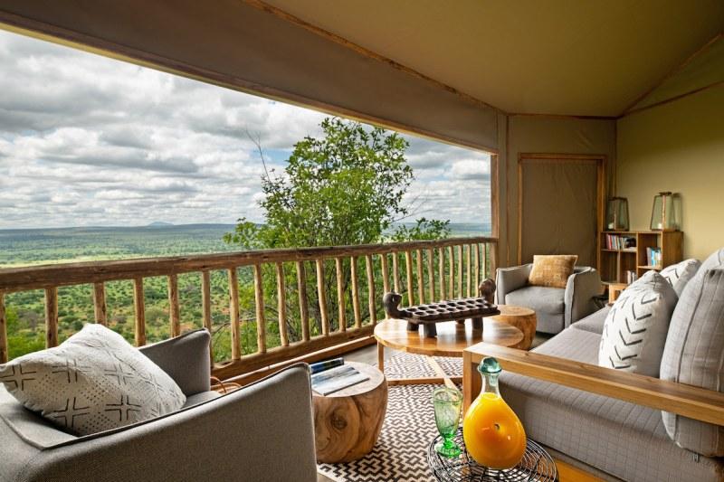 Lemala Mpingo Ridge view from Balcony