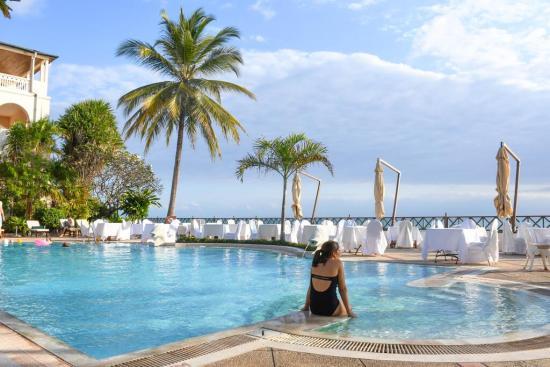 Zanzibar serena hotel Pool Area 2