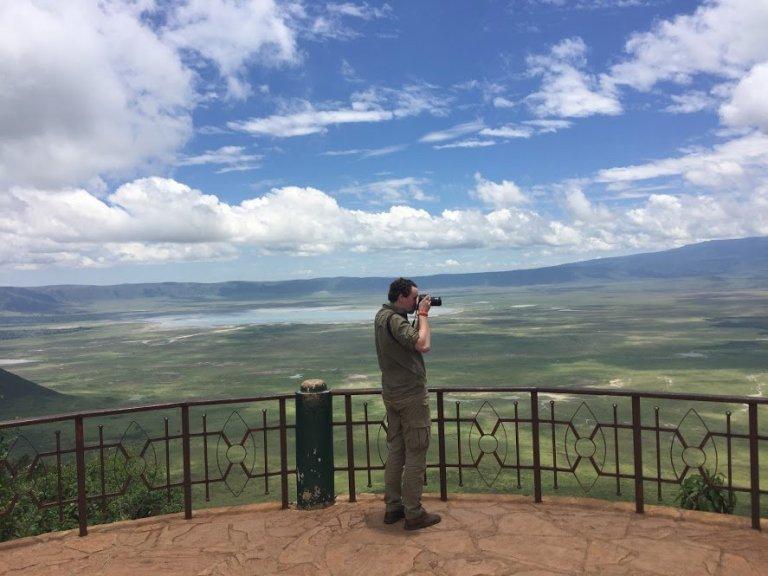 view-over-ngorongoro
