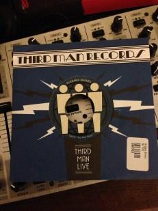Alabama Shakes – Third Man Live   Front