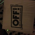 OFF! - Live At Generation Records   Front