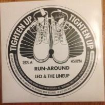 Leo & The Lineup - Run-around | Front