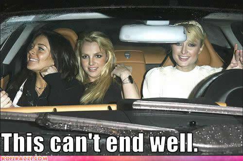 Lohan, Spears y Hilton