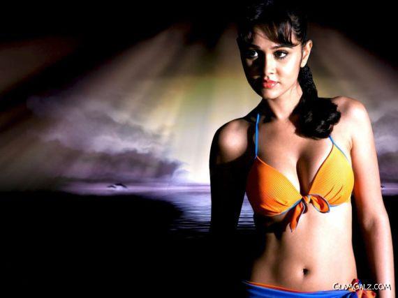 Click to Enlarge - Nisha Kothari Hot Wallpapers