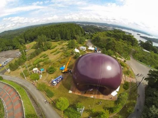 The Worlds First Inflatable Concert Hall