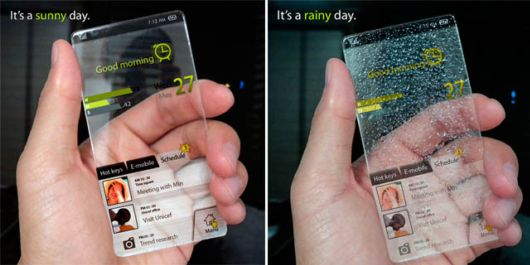 Most Weird N Futuristic Cell Phones Ever