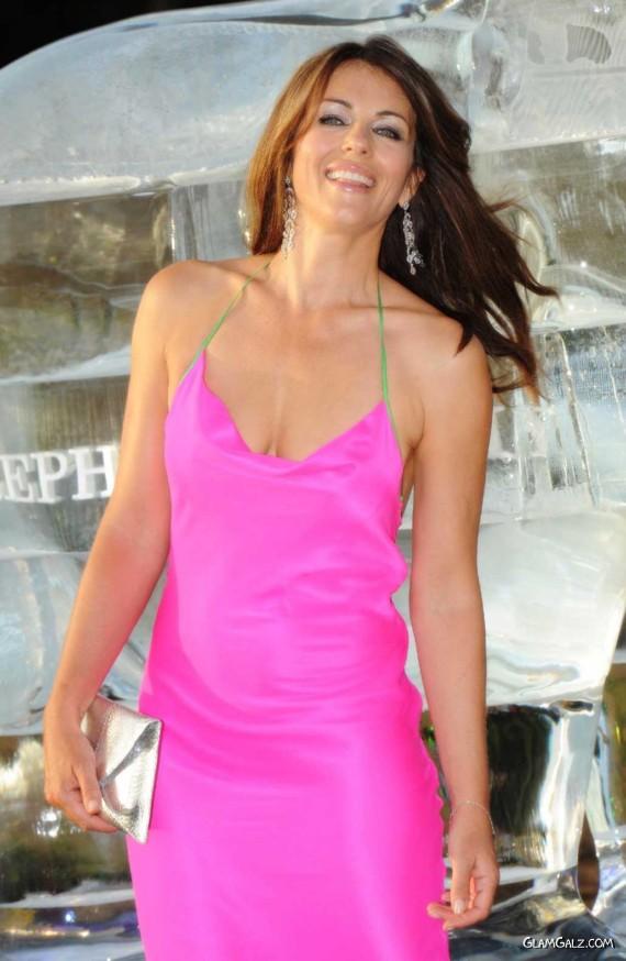 Elizabeth Hurley Is Still Gorgeous
