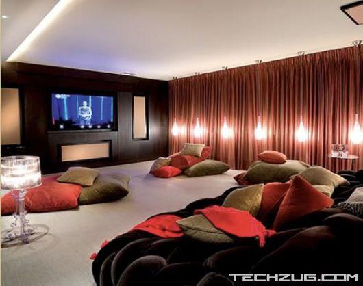 Coolest Private Home Theatres'