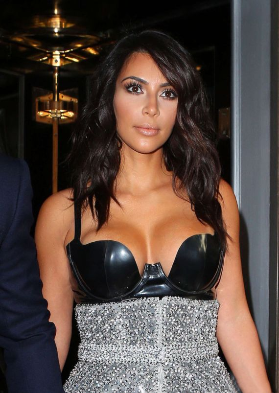 Miss Kardashian At GQ Men Of Year Awards 2014