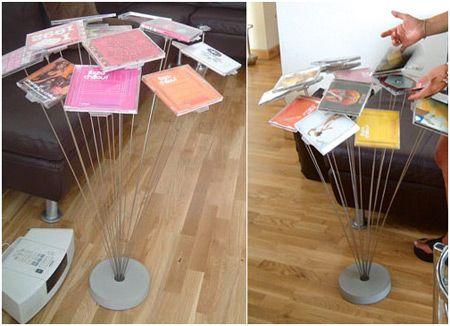 Coolest CD DVD Holders