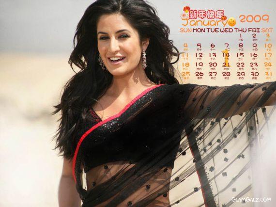 Click to Enlarge - Katrina Kaif Calendar 2009