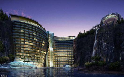 Amazing Underground Hotel In China