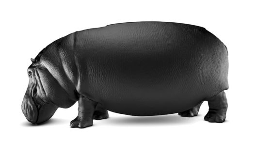 Hippopotamus Chair Is The Size Of A Real Hippo