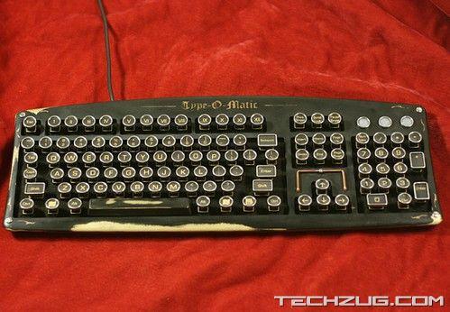 Stunning Steampunk Keyboard Designs