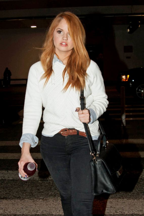 Debby Ryan Spotted At The Airportt