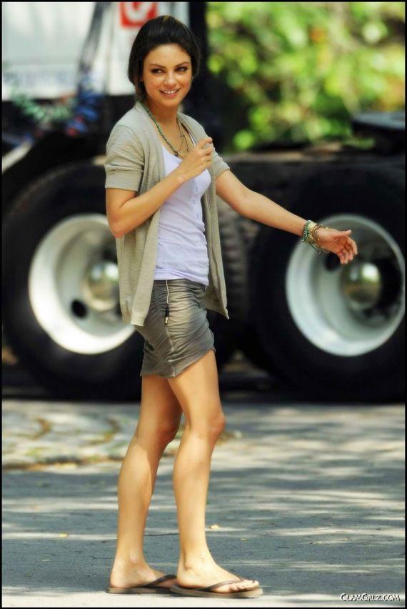 Awesome Mila Kunis Street Candids