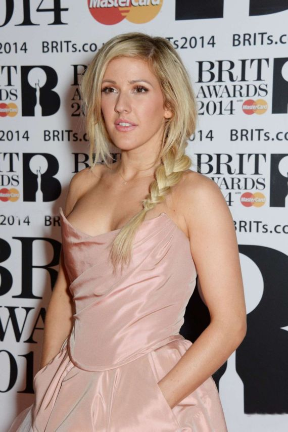 Celebs At The 2014 BRIT Awards In London