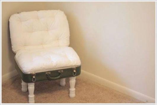 Reuse Of Creative Old Garbage Furniture