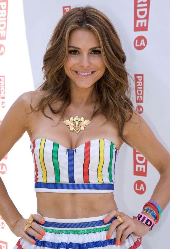 Maria Menounos Be There At La Pride Festival