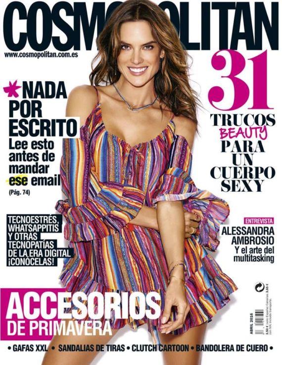 Alessandra Ambrosio For Cosmopolitan Spain Magazine