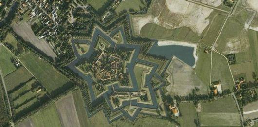Star Shaped Fort Bourtange, Netherlands