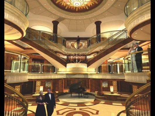 Simply Awesome Queen Victoria Onboard