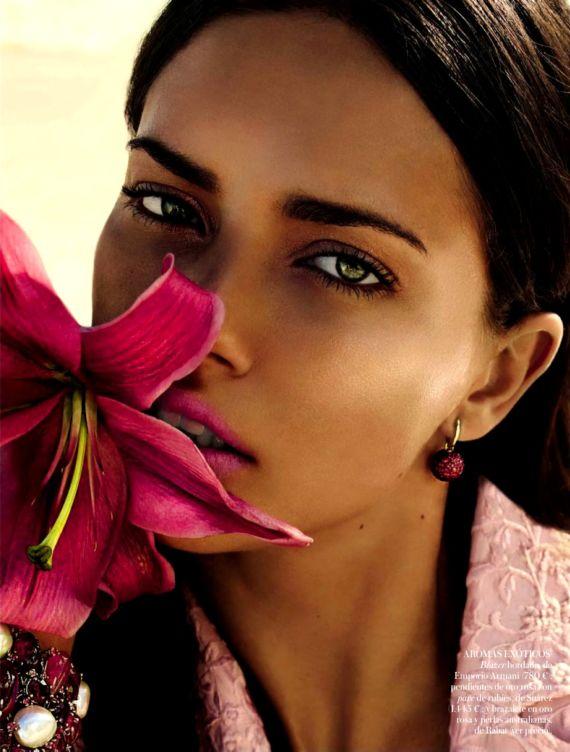 Adriana Lima Photoshoot For Vogue Spain