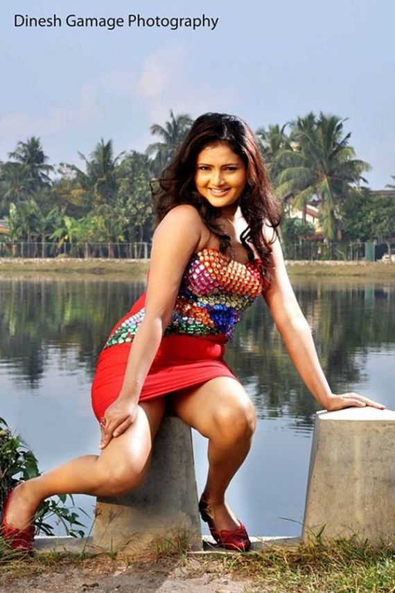 Sri Lankan Actress Ameesha Kavindi