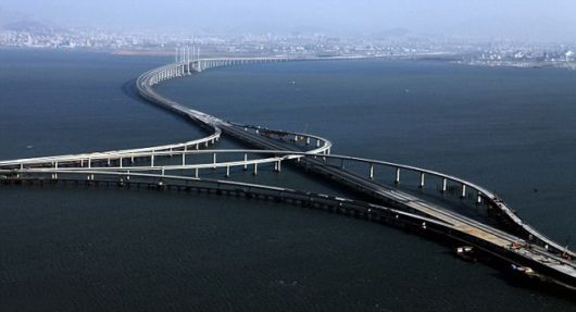 Worlds Longest Sea Bridge Unvieled