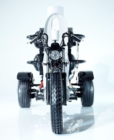 Crazy Toilet Powered Motorcycle