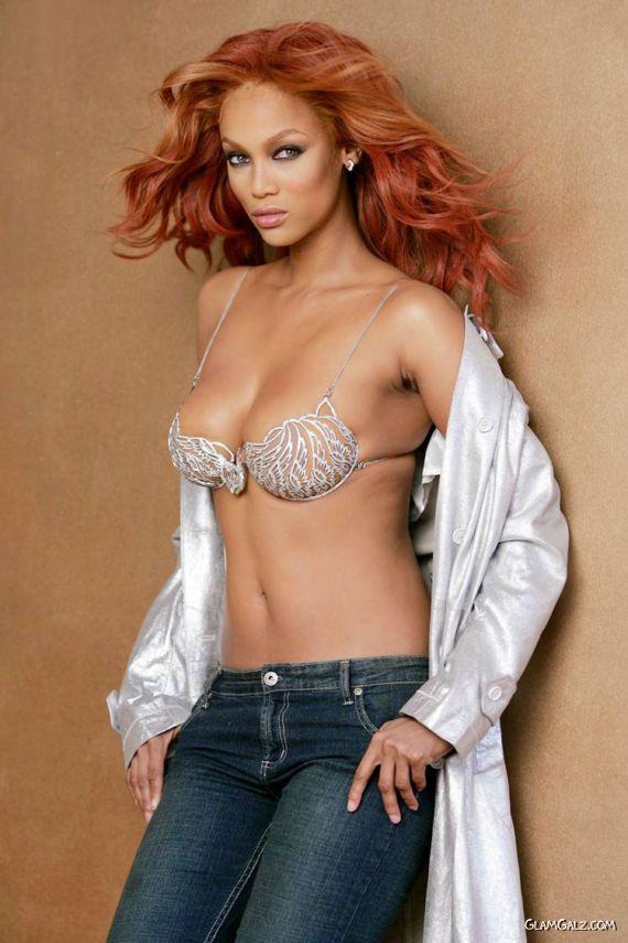 $10,000,000 Bra Photoshoot Tyra Banks