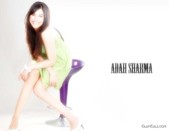 Click to Enlarge - Pretty Blue Eyed Adah Sharma Walls
