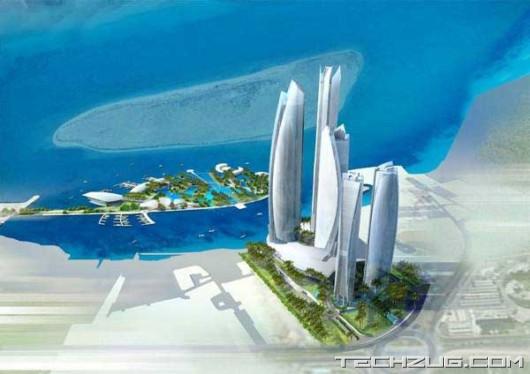 Abu Dhabi Capital Gate Building