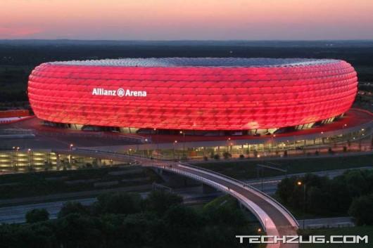 Stunning World Cup Stadium in Germany'
