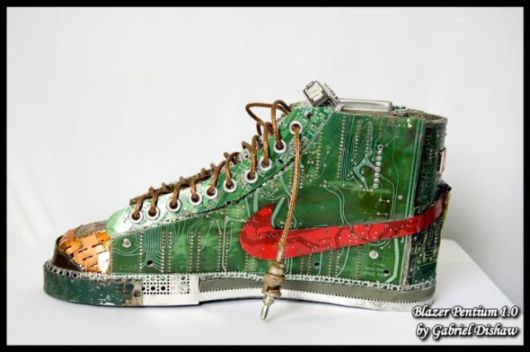 Shoes Made of Pentium Processers