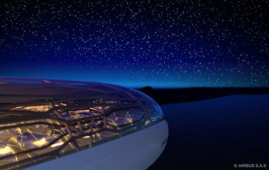 Airbus Unveils Transparent Airplane
