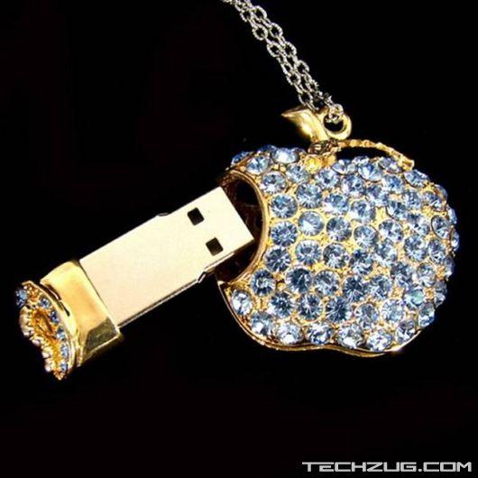 Ever Seen Diamond Flash Drives?