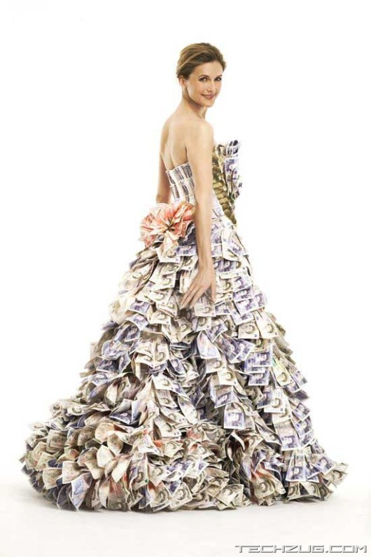 Amazing Million Dollar Dress