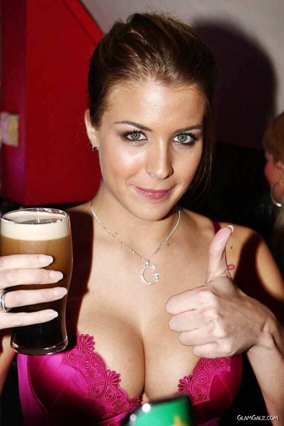 Gorgeous Gemma Atkinson at the Pub Opening