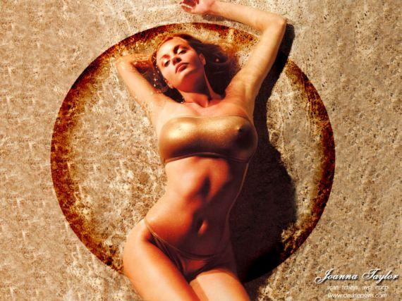 Joanna Taylor Spicy Photoshoot